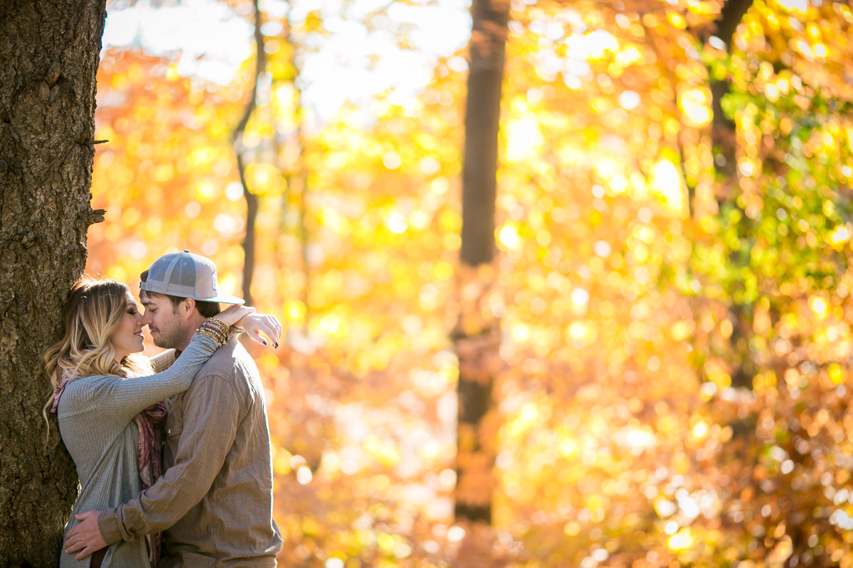 Rochester Fall Engagement Photos