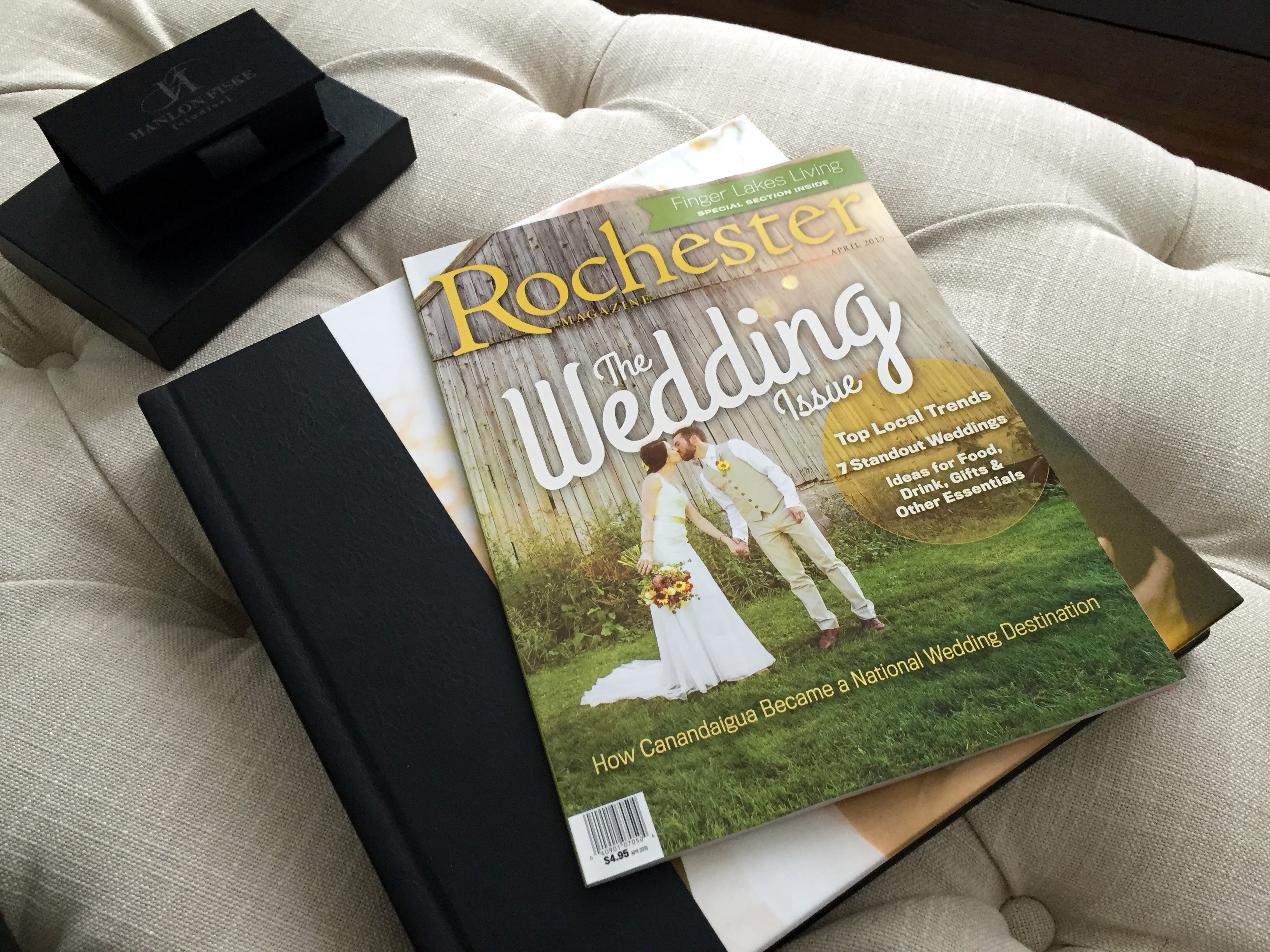 Our Wedding Photography featured in Rochester Magazine